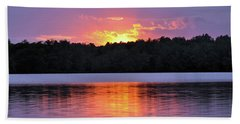 Sunsets Hand Towel by Glenn Gordon