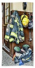 Fireman - Always Ready Bath Towel