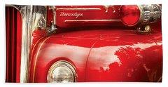 Fireman - An Old Fire Truck Bath Towel