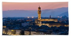 Firenze At Sunset Bath Towel