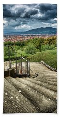 Firenze From The Boboli Gardens Hand Towel