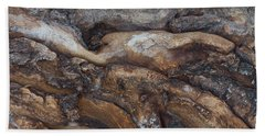 Firewood Abstract Hand Towel