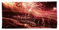 Firework Fantasy  Hand Towel
