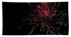 Fireworks 2016 Iv Hand Towel by Suzanne Gaff