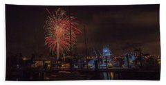 Fireworks, 2018 Bath Towel