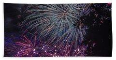Fireworks 4 Bath Towel