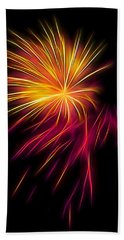 Fireworks Abstract Nbr 1 Hand Towel