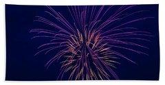Fireworks Display Bath Towel