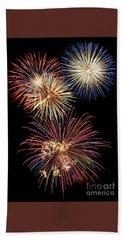 Fireworks Hand Towel