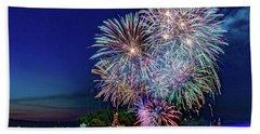 Fireworks Spectacular Bath Towel