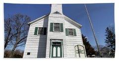 First Congragational Church In New Village Bath Towel