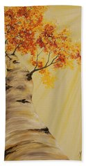 First Fall Light Bath Towel