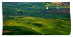 First Light On The Palouse Hand Towel