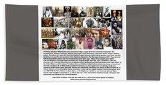 First Native Americans Were Indigo Twa Black Afrikans Hand Towel