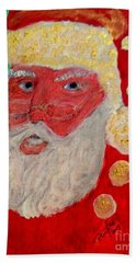 First Santa Claus 1773 Hand Towel