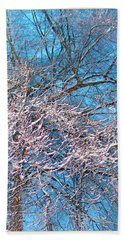 First Snow At Dawn Hand Towel