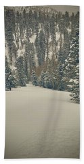 first turns Friday  Bath Towel by Mark Ross