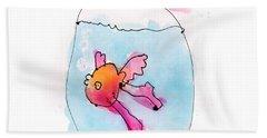Fish Hand Towel