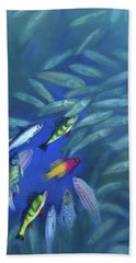 Fish Bowl Hand Towel
