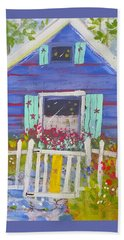 Fish Camp Cottage Hand Towel