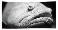 Fish Face Bath Towel