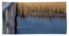 Fishin' Lines Hand Towel