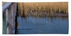 Fishin' Lines Bath Towel by Kay Lovingood