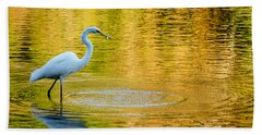Hand Towel featuring the photograph Fishing 2 by Wade Brooks