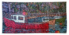 Fishing Boats - Beaver Harbour Hand Towel