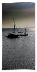 Fishing Boats Essex Hand Towel