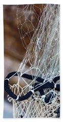 Fishing Net Details - Rovinj, Croatia Bath Towel