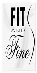 Fit And Fine Hand Towel