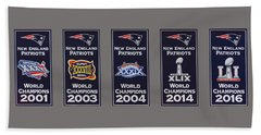 Five Time Champions Hand Towel