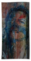 Hand Towel featuring the painting Five Years by Paul Lovering