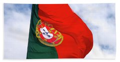 Flag Of Portugal Hand Towel