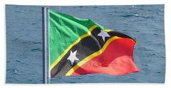 Flag Of Fedn St Kitts And Nevis Bath Towel