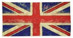 Flag Of The United Kingdom Bath Towel