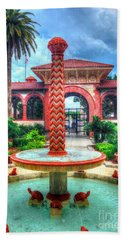 Flagler College Fountain Hand Towel