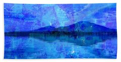 Flagstaff Lake Blu Hand Towel