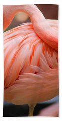 Flame Colored Hand Towel