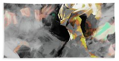 Bath Towel featuring the painting Flamenco Dance Art 7u7 by Gull G