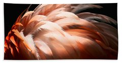 Flamingo Feathers Hand Towel