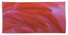 Flamingo Flow 3 Hand Towel by Michael Hubley