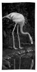 Flamingo Lake, Film Finish Hand Towel