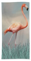 Flamingo Bath Towel