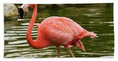 Flamingo Wades Hand Towel