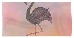 Flamingo1 Hand Towel
