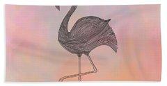 Flamingo1 Bath Towel