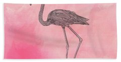 Flamingo3 Hand Towel