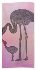 Flamingo6 Bath Towel